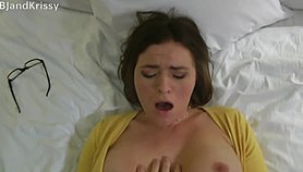 Your best friends wife Krissy Lynn fucks you and begs u to get her pregnant